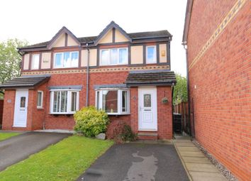 Thumbnail 2 bedroom semi-detached house for sale in Exeter Close, Dukinfield