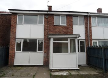 Thumbnail 2 bed semi-detached house for sale in Langdale Road, Carcroft Doncaster