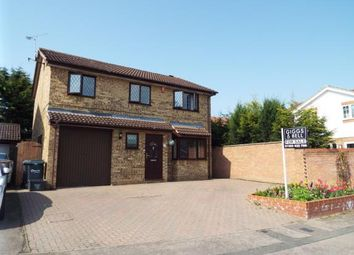 Thumbnail 4 bedroom detached house for sale in Albury Close, Luton, Bedfordshire