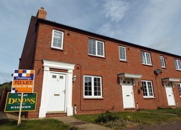 Thumbnail 2 bed property to rent in Rogerson Road, Fradley