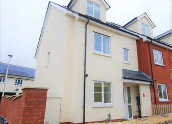 Thumbnail 3 bed semi-detached house to rent in Axe Cliff View, Seaton