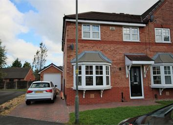 Thumbnail 3 bed semi-detached house for sale in Coltsfoot Close, Leigh, Lancashire