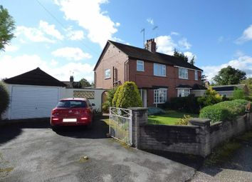 Thumbnail 3 bed semi-detached house for sale in New Road, Madeley, Crewe