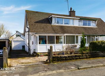 Thumbnail 2 bed semi-detached bungalow for sale in Plantation Avenue, Arnside, Carnforth, Cumbria