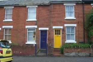 Thumbnail 2 bed terraced house to rent in Mill Street, Colchester