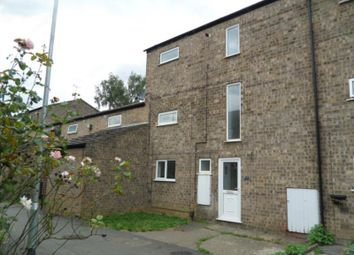 Thumbnail 4 bed terraced house to rent in Watergall, Bretton, Peterborough