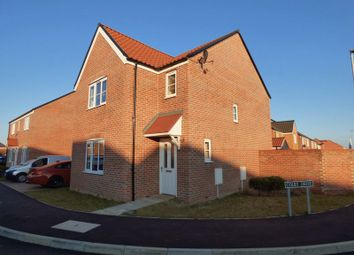 Thumbnail 3 bed detached house for sale in Howard's Way, Bradwell, Great Yarmouth