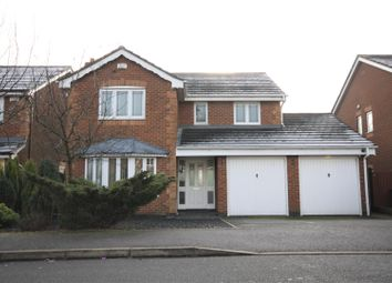 Thumbnail 4 bedroom detached house for sale in Clutsom Road, Coalville