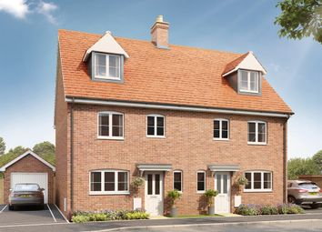 "Thumbnail 4 bedroom semi-detached house for sale in ""The Leicester "" at Stane Street, Billingshurst"