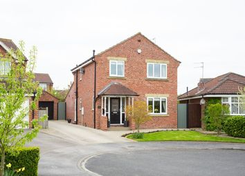 Thumbnail 3 bed detached house for sale in Coulson Close, Strensall, York