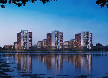 Thumbnail 1 bed flat for sale in Plot 134, Meridian Waterside, Radcliffe Road, Southampton