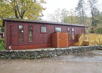 Thumbnail 2 bed mobile/park home for sale in Thirlmere Lodge, White Cross Bay Holiday Park, Windermere