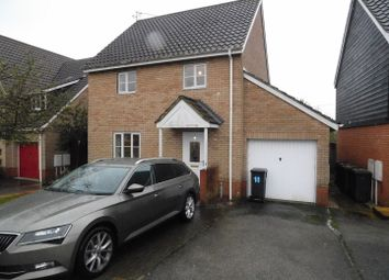 Thumbnail 3 bed detached house for sale in Combs Wood Drive, Stowmarket