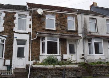 Thumbnail 3 bed terraced house to rent in Rhondda Street, Mount Pleasant, Swansea