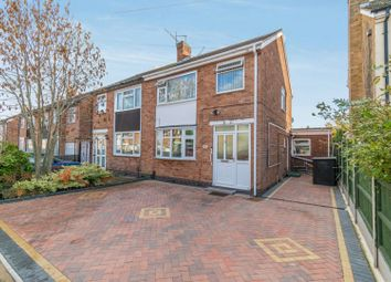 Thumbnail 3 bed semi-detached house for sale in Lynmouth Drive, Wigston