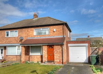 Thumbnail 2 bed semi-detached house for sale in Chapel House Drive, Chapel House, Newcastle Upon Tyne