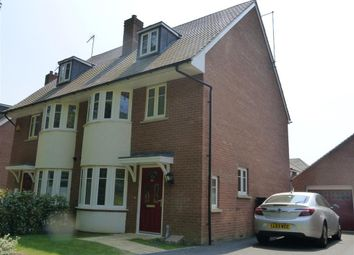 Thumbnail 4 bed semi-detached house to rent in Leatherworks Way, Northampton