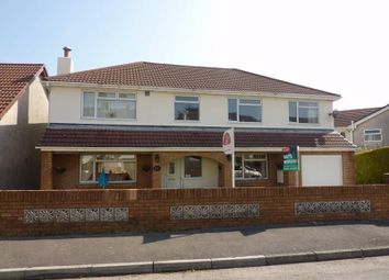 Thumbnail 6 bed detached house for sale in Darren View, Llangynwyd, Mid Glamorgan.