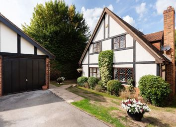 Thumbnail 4 bed detached house for sale in Parklands, Bookham, Leatherhead