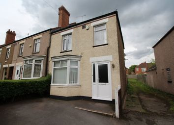 Thumbnail 3 bedroom end terrace house for sale in Radford Road, Coventry