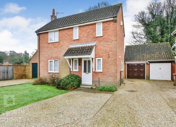 Thumbnail 4 bed detached house for sale in Rosa Close, Spixworth, Norwich