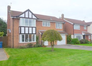 Thumbnail 4 bedroom detached house for sale in Chestnut Close, Gnosall, Stafford