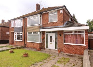 Thumbnail 3 bed semi-detached house for sale in Church Avenue, Denton, Manchester