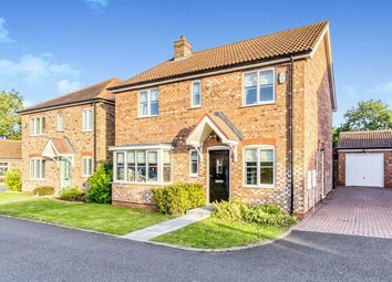 Thumbnail 4 bed detached house for sale in Saxonfields Drive, Stallingborough, Grimsby