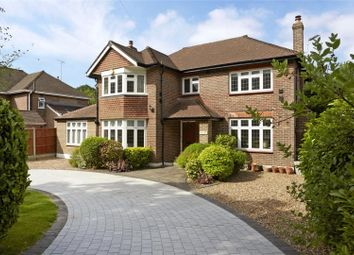 Thumbnail 5 bed detached house for sale in Oxshott Road, Leatherhead, Surrey