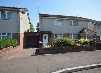 Thumbnail 2 bed semi-detached house for sale in Orchard Park, St Mellons, Cardiff, Glamorgan.