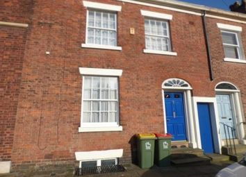 Thumbnail 4 bed terraced house to rent in Latham Street, Preston