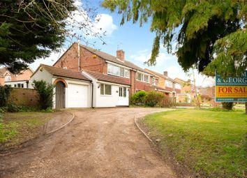 Thumbnail 3 bed semi-detached house for sale in Knapp Lane, Tadley, Hampshire