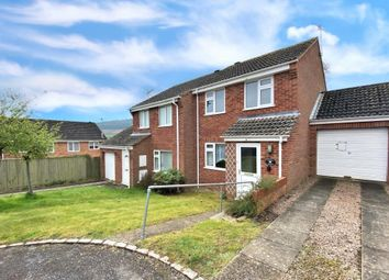 Thumbnail 3 bed semi-detached house for sale in Blackthorn Close, Woolbrook, Sidmouth, Devon