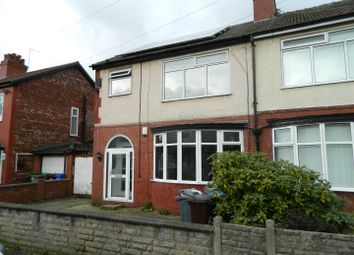 Thumbnail 3 bed semi-detached house to rent in Milford Drive, Levenshulme, Manchester