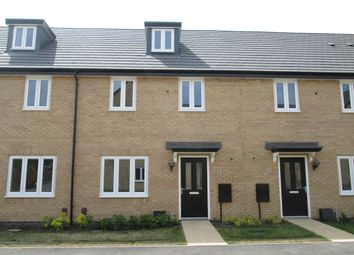 Thumbnail 3 bed terraced house to rent in Centurian Walk, Sandy