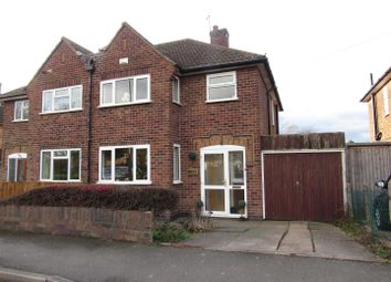 Thumbnail 3 bed semi-detached house for sale in Kingsway, Braunstone, Leicester