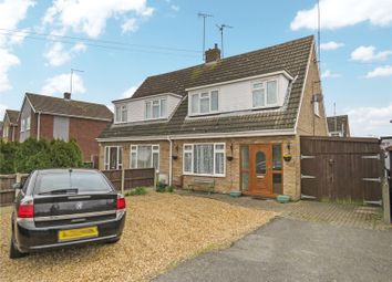 Thumbnail 3 bed semi-detached house for sale in St. Judiths Lane, Sawtry, Huntingdon, Cambridgeshire