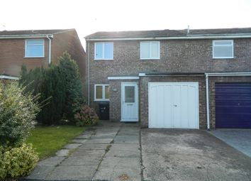 Thumbnail 1 bed semi-detached house to rent in Avelley Close, Warrington