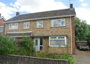 Thumbnail 3 bed semi-detached house for sale in Edinburgh Avenue, Werrington, Peterborough, Cambridgeshire