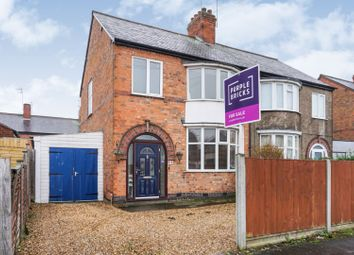Thumbnail 3 bed semi-detached house for sale in Woodville Road, Leicester