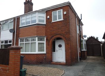 Thumbnail 3 bed semi-detached house to rent in Emlyn Street, Manchester