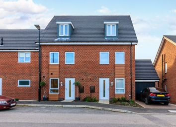 Thumbnail 3 bed terraced house for sale in Burghley Close, Washington