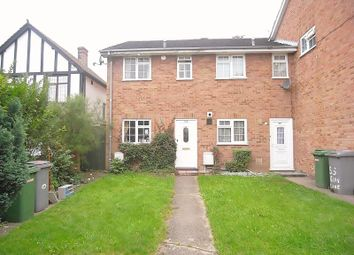 Thumbnail 2 bedroom semi-detached house to rent in Elms Lane, Wembley, Middlesex