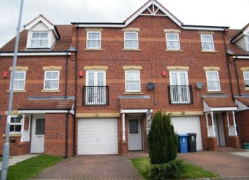 Thumbnail 3 bed town house for sale in The Rowans, Gainsborough