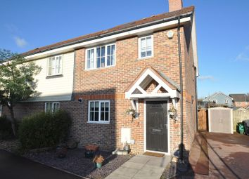 Thumbnail 4 bed semi-detached house for sale in Turgis Road, Elvetham Heath, Fleet