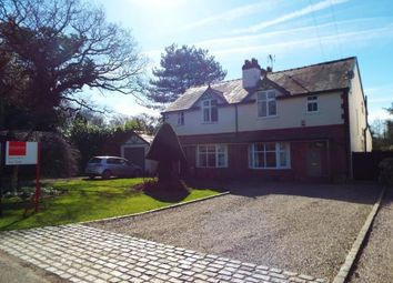 Thumbnail 3 bed semi-detached house for sale in Trouthall Lane, Plumley, Knutsford, Cheshire