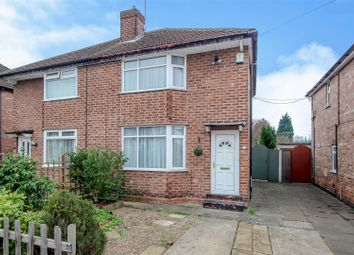 Thumbnail 2 bed semi-detached house for sale in Hemlock Avenue, Stapleford, Nottingham