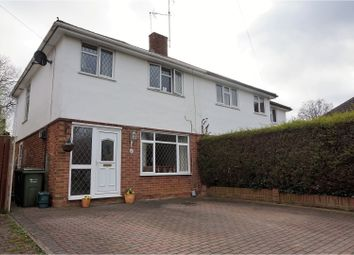 Thumbnail 3 bed semi-detached house for sale in St. Marys Road, Ash Vale