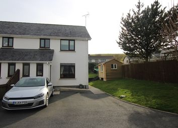 Thumbnail 3 bed end terrace house for sale in Cysgod Y Gaer, Cribyn, Lampeter