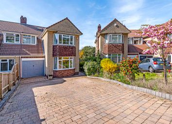 Thumbnail 5 bed semi-detached house for sale in Howecroft Gardens, Stoke Bishop, Bristol